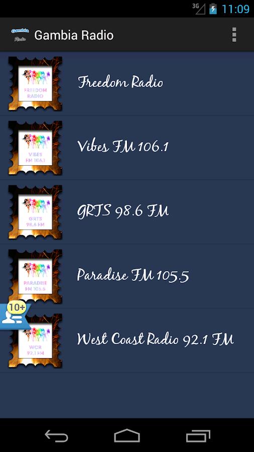 Gambia Radio - screenshot