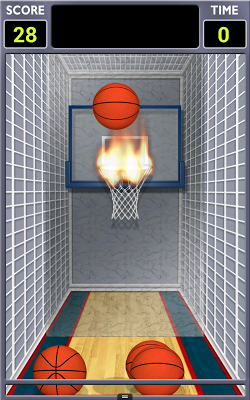 Mini Shot Basketball Free - screenshot