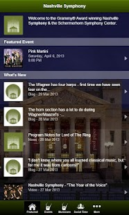 Nashville Symphony- screenshot thumbnail