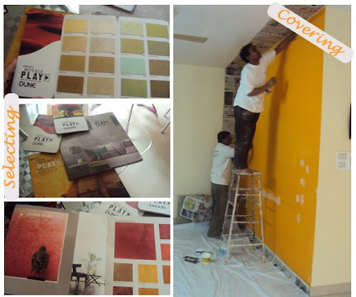 Surprise Your Spouse : A Makeover Story   dress your home - Indian ... - Royal Play Asian Paints