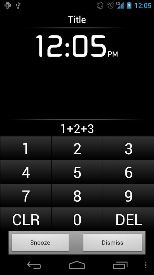 Alarm Clock Plus★- ekran görüntüsü