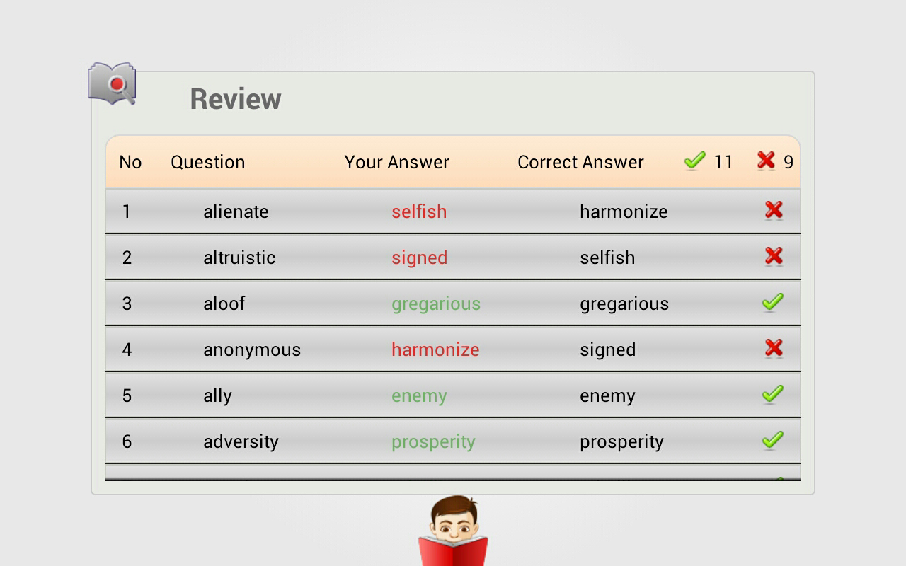 Worksheet Antonym For For improve english with antonyms android apps on google play screenshot