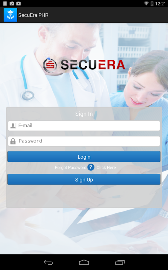 SecuEra PHR- screenshot