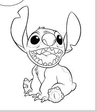 Lilo Y Stitch Colorear Dibujos De Lilo Y Stitch