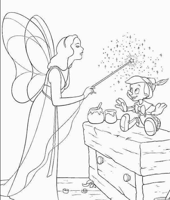 Pinocho Colorear Dibujos De Pinocho