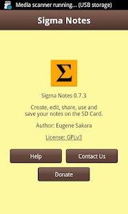Sigma Notes - Notepad for you- screenshot thumbnail