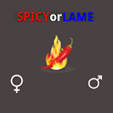 Are you Spicy or Lame? logo