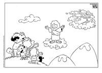 Dibujos Para Colorea Pascua Cristiana