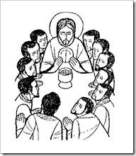 Dibujos De La última Cena Para Colorear Semana Santa