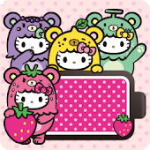 HELLO KITTY Battery Widget4