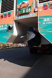 水陸両用バスのスクリュー