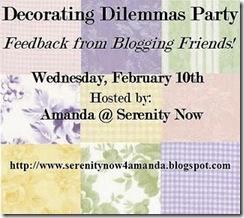 Decorating Dilemmas Feb 10 2010