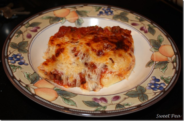 Make Ahead Beefy Lasagna