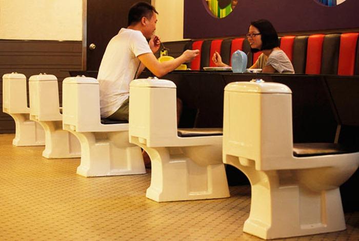 Toilet Restaurant In China Amusing Planet