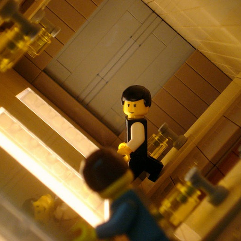 Inception Scenes Recreated in Lego