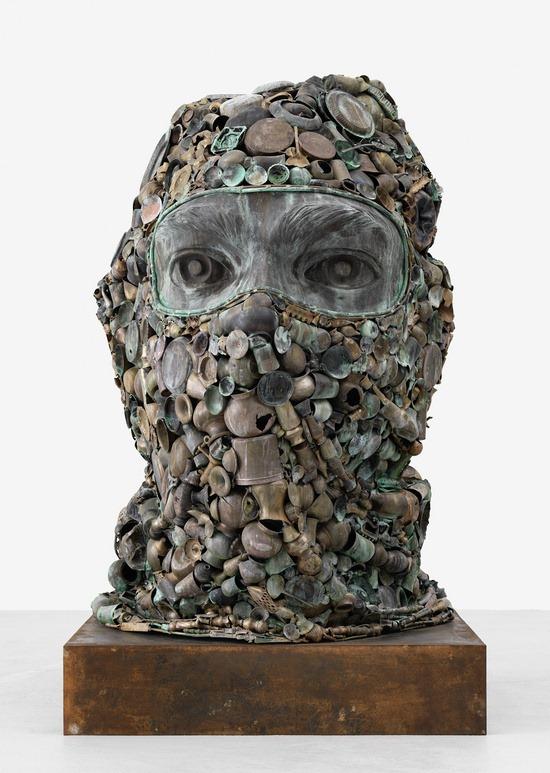 Subodh Gupta Builds Sculptures From Household Utensils