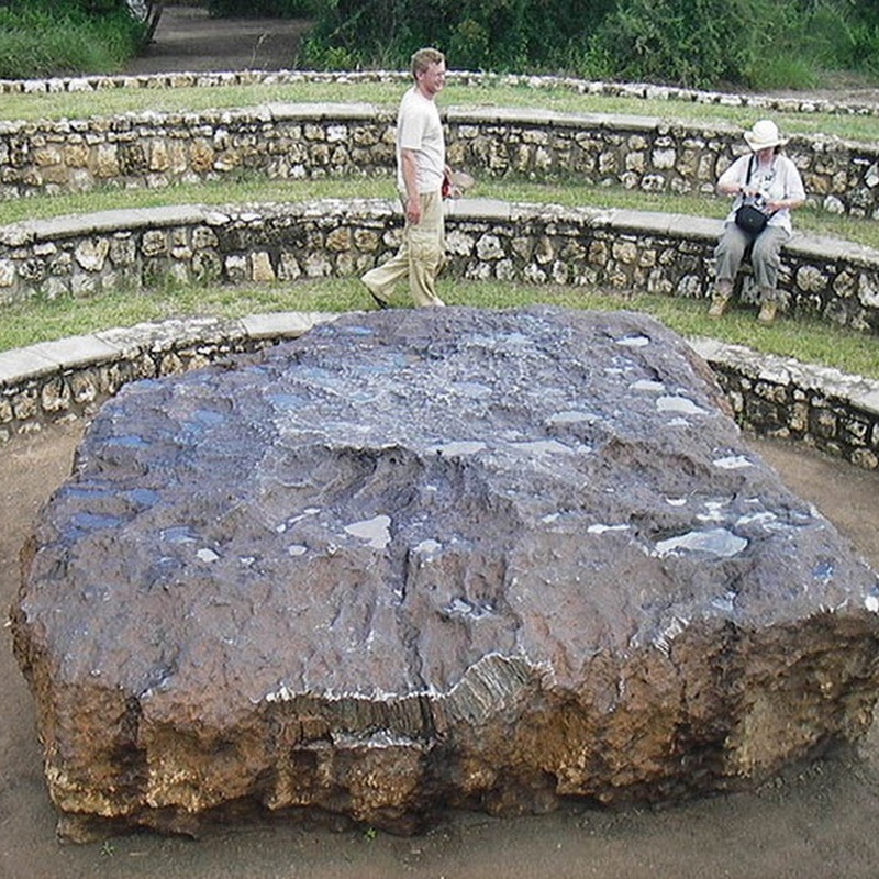 Hoba Meteorite is the Largest Meteorite on Earth