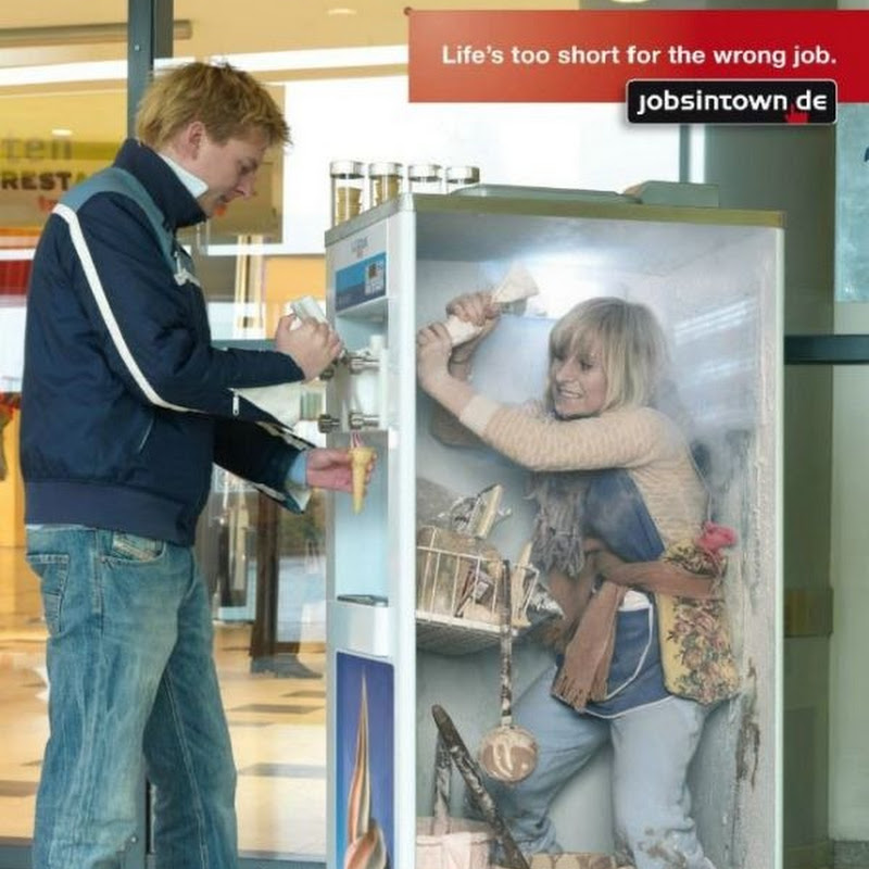 Life is Too Short for the Wrong Job: Ad Campaign