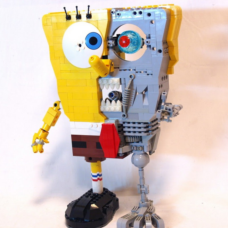 Spongebob Squarepants is Actually a Terminator