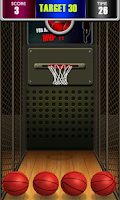 Screenshot of Basketball Shoot 3D