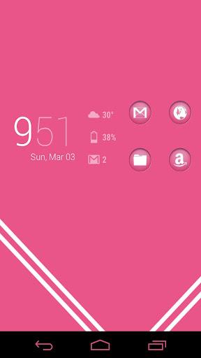 Circons Pink Icons