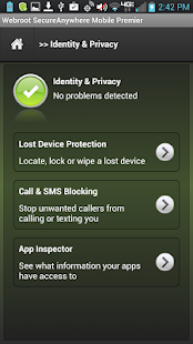 Security - Premier Screenshot
