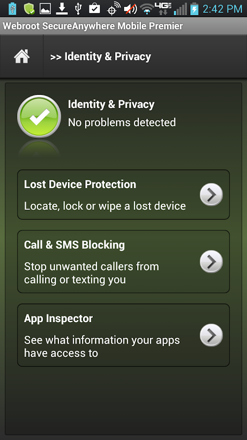 Security - Premier – Screenshot