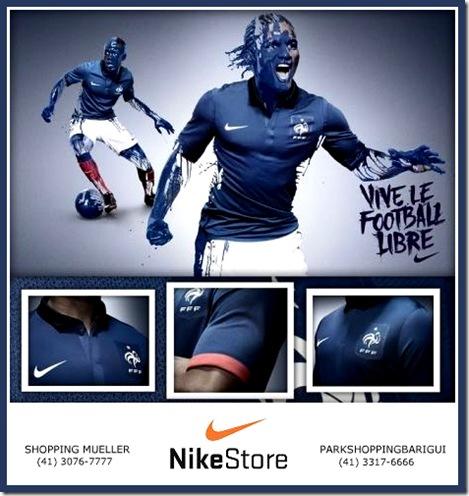 A Nike é a nova patrocinadora da França. E para destacar o novo período da  era dos Les Blues 15e2865659240