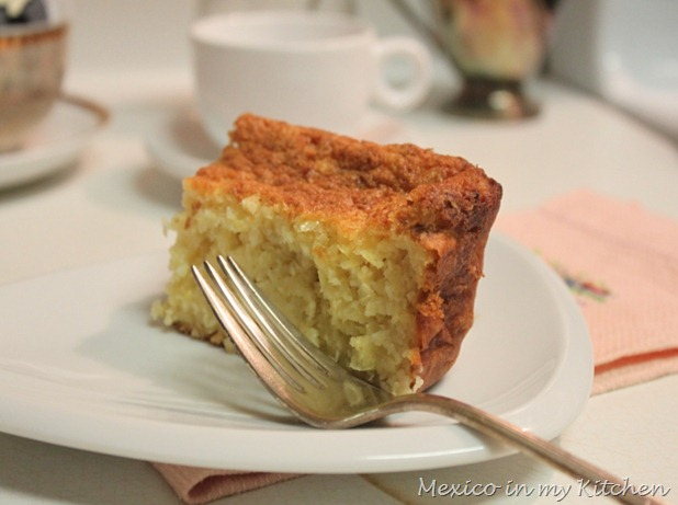 Sweet Corn Cake | Pan de Elote