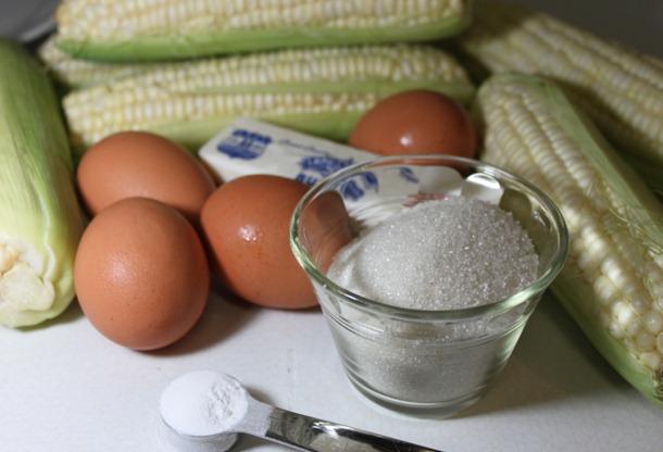 Sweet Corn Cake   Ingredients