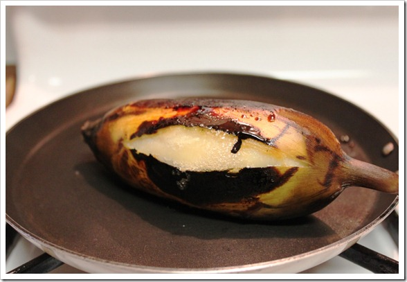 Instructions step by step | Roasted Banana for a Warm Breakfast