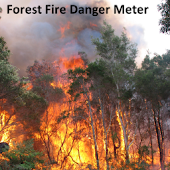 Forest Fire Danger Meter