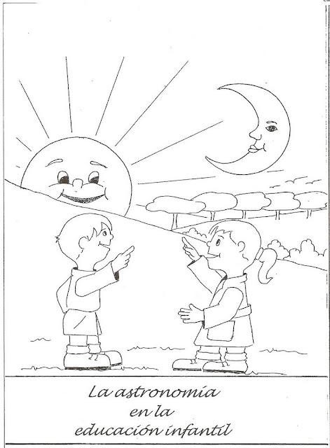 Pinta Y Colorea El Sol Y Las Constelaciones