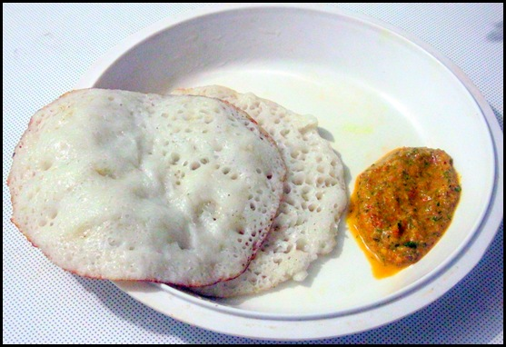 Sponge dosa without urad dal