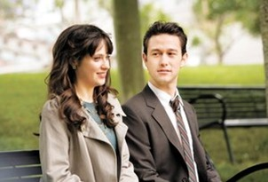 Zoey Deschannel y Joseph Gordon Levy
