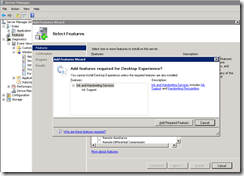 Terence Luk: Installing OCS 2007 R2 on a Windows Server 2008