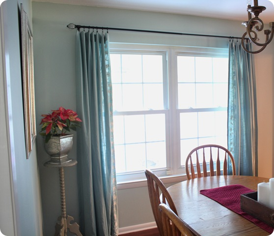 Dining Room Valances: Going A Little Coastal: Dining Room Curtains