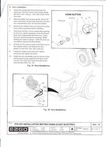 1998 ezgo wiring diagram ezgo light diagram ezgo freedom light kit installation instructions #8