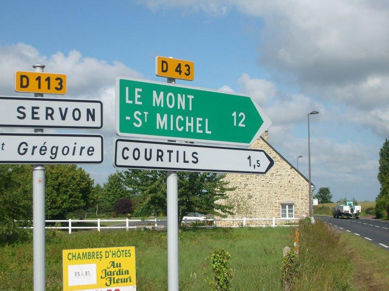 Mont St Michel, frança, france