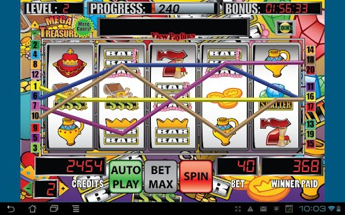 Mega Treasure Slot Machine- screenshot thumbnail
