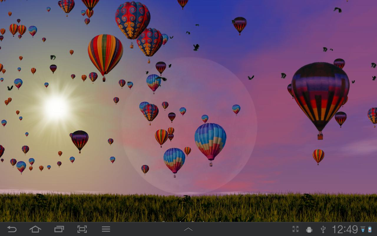 Hot Air Balloons Wallpaper Screenshot 4
