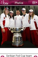 Screenshot of Fed Cup