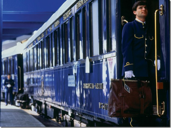 Boarding the Venice Simplon-Orient-Express