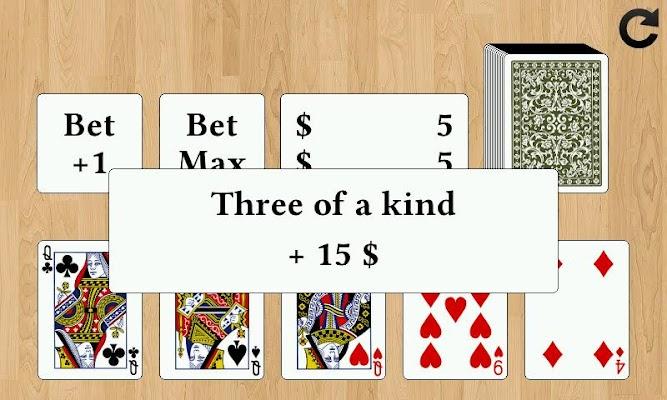Draw Poker - screenshot