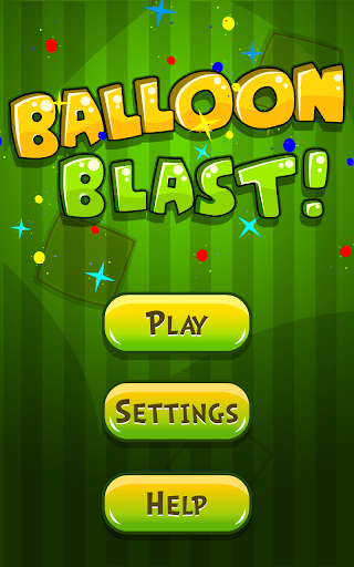 Balloon Blast Memory Game