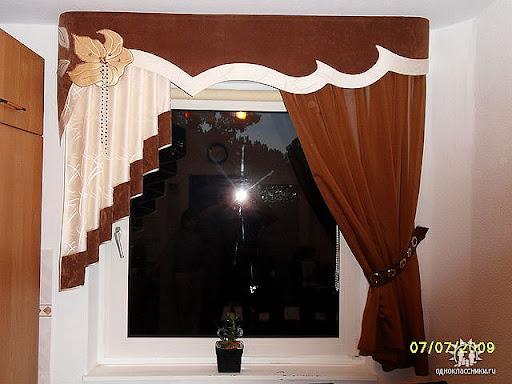 ламбрекен, шьем шторы сами, как шить.