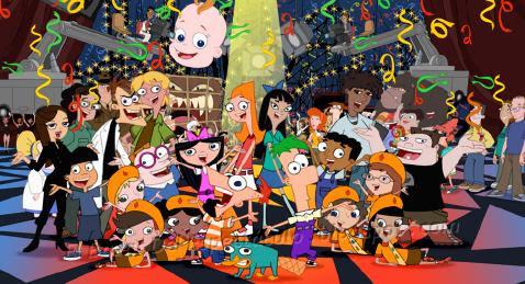* Phineas y Ferb personajes: Capitulos estreno desde el 07/04/11 Disney Channel