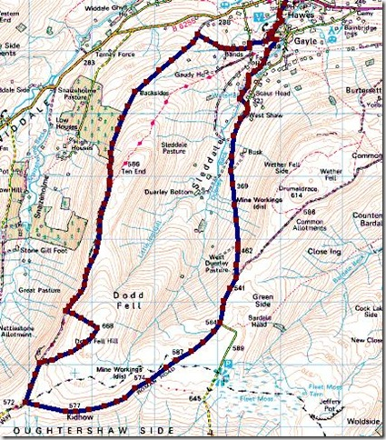dodd fell map