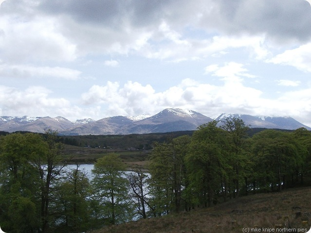 mamores from near gairlochy