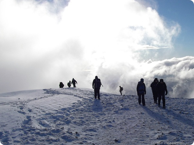 helvellyn summit ridge